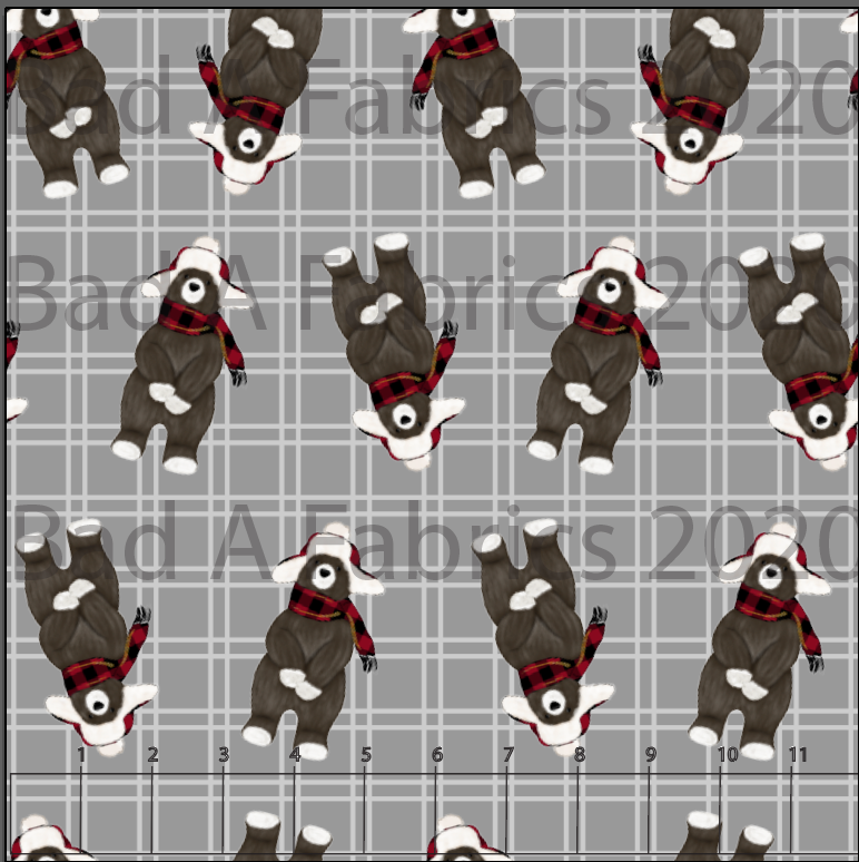 Beary Plaid (Preorder)