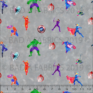 Avengers Cotton Lycra (Retail)