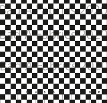 Load image into Gallery viewer, Black & White Checkers (Preorder)