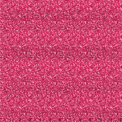 Bright Pink Glitter Fabric (Preorder)