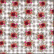 Load image into Gallery viewer, Buffalo Plaid Floral (Preorder)