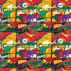 Comic Dinosaurs (Preorder)
