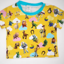 Load image into Gallery viewer, Yellow Toy Story Fabric (Preorder)