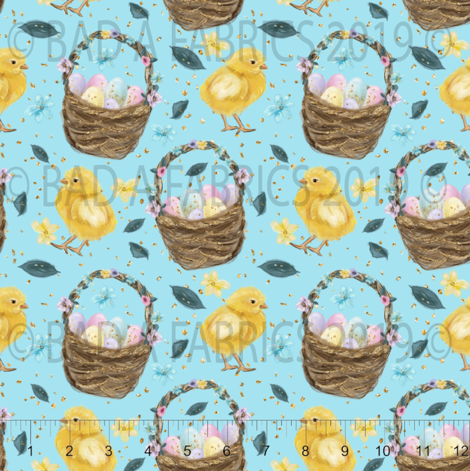Easter Chicks and Baskets (Preorder)
