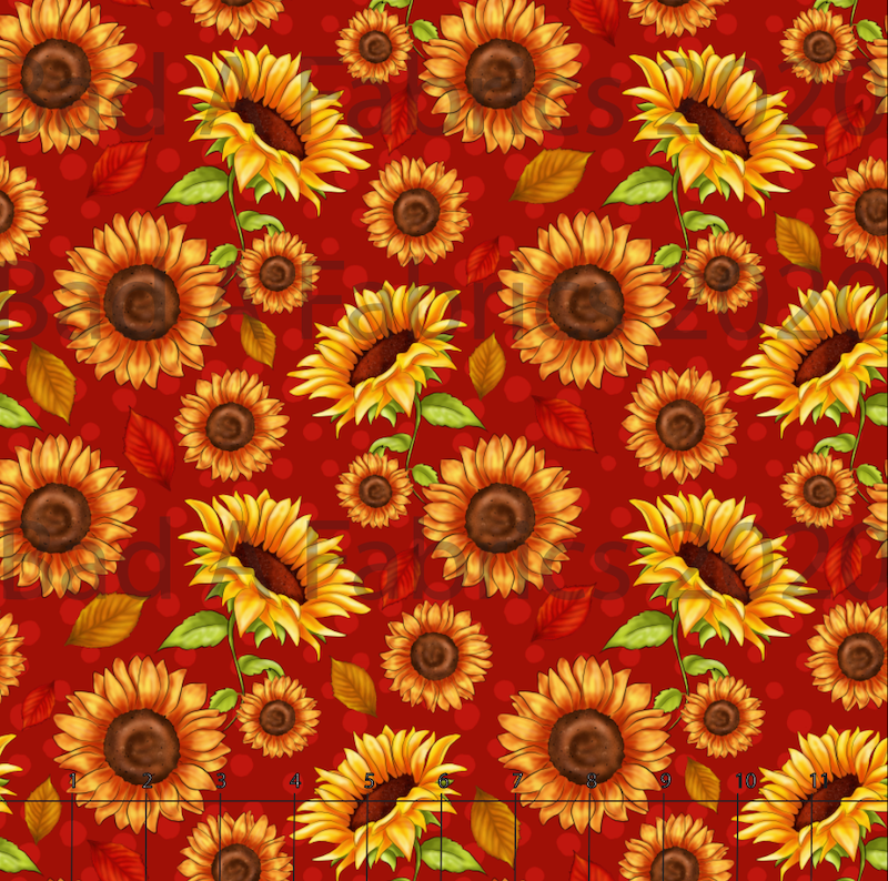 Fall Sunflowers (Preorder)