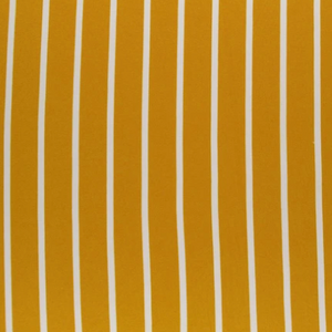 Mustard & White Vertical Stripes Double Brushed Poly (Retail)