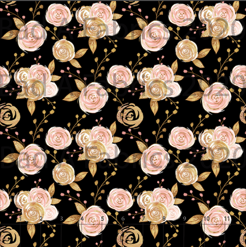 Pink and Gold Floral (Preorder)