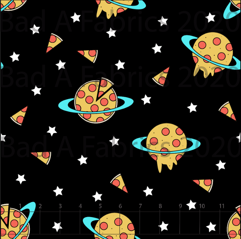 Pizza Planets Cotton Woven (Retail)