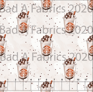 Pumpkin Spice Frap Double Brushed Poly (Retail)