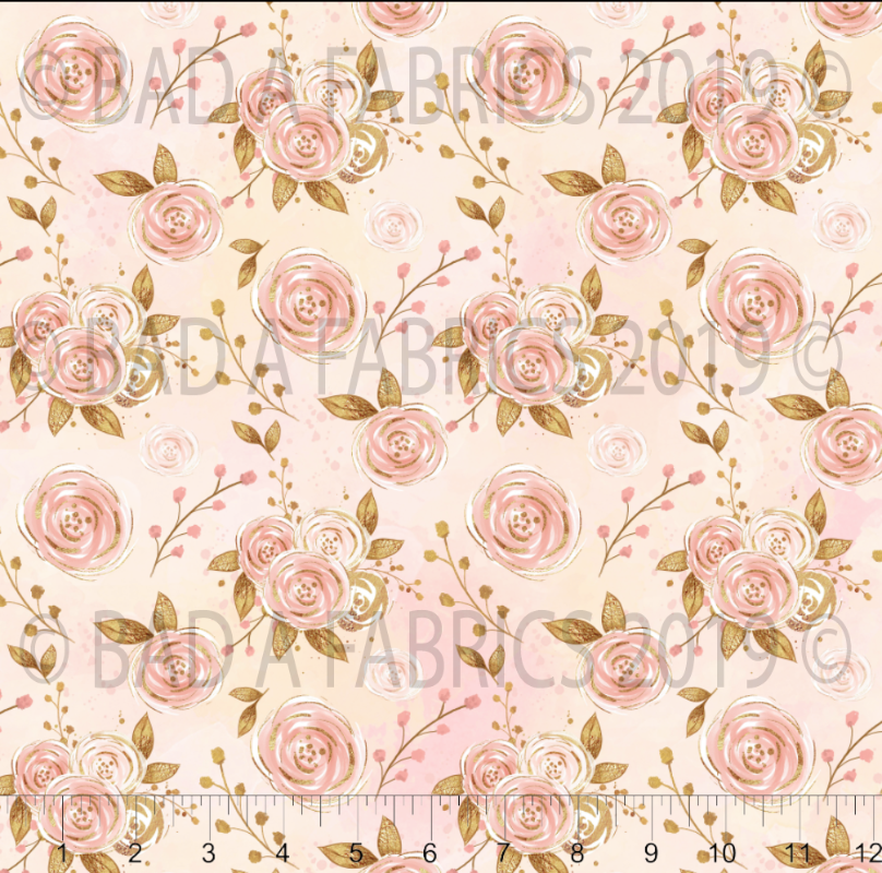 Rose Gold Floral (Preorder)
