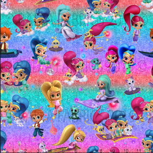 Shimmer & Shine Fabric (Preorder)