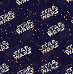 Star Wars Logo Double Sided Minky (Retail)