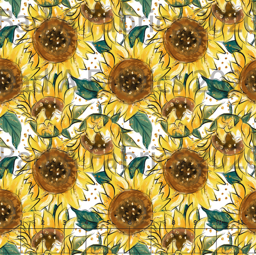 Sunflowers Fabric (Preorder)