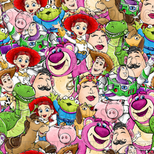 Load image into Gallery viewer, Toy Story Collage (Preorder)