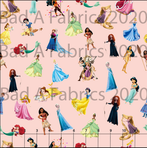 Your Favorite Princesses Cotton Woven (Retail)