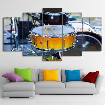 Limited Edition 5 Piece Amazing Snare Drum Canvas