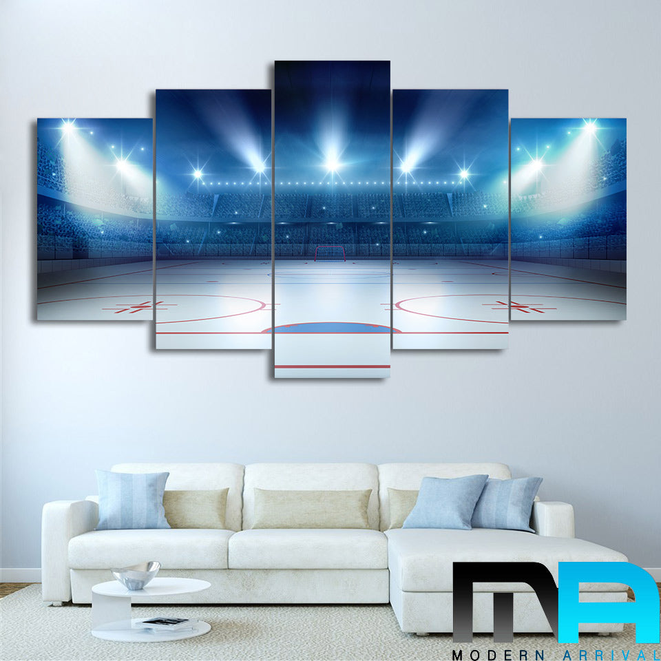 Limited Edition 5 Piece Hockey Canvas