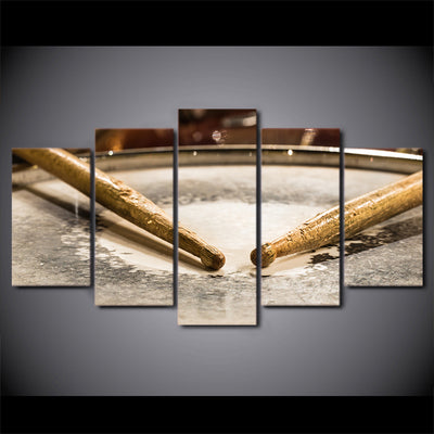Limited Edition 5 Piece Classic Drum Sticks Canvas