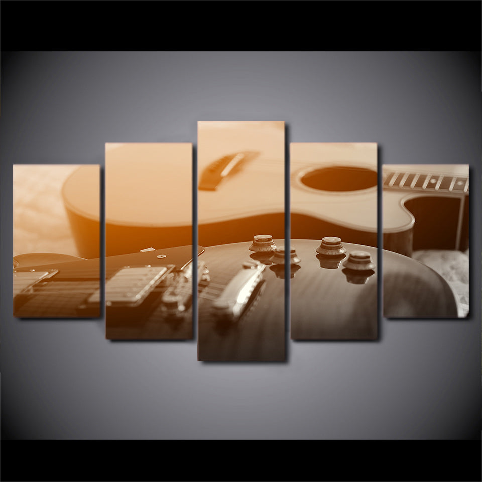 Limited Edition 5 Piece Classical Guitar Canvas