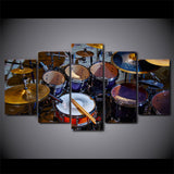 Limited Edition 5 Piece Cool Drum Set Canvas