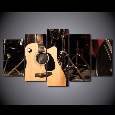 Limited Edition 5 Piece Cool Guitar Canvas