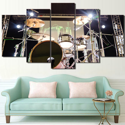 Limited Edition 5 Piece Gorgeous Drum Set In Stage Canvas