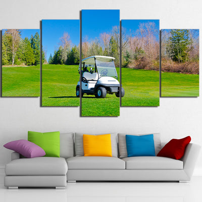 Limited Edition 5 Piece Gorgeous Golf Cart Canvas