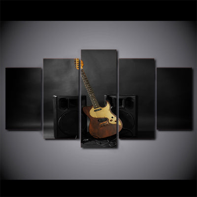 Limited Edition 5 Piece Guitar With Soundbox Canvas