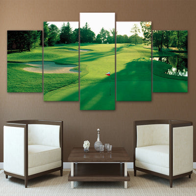 Limited Edition 5 Piece Golf Land Canvas