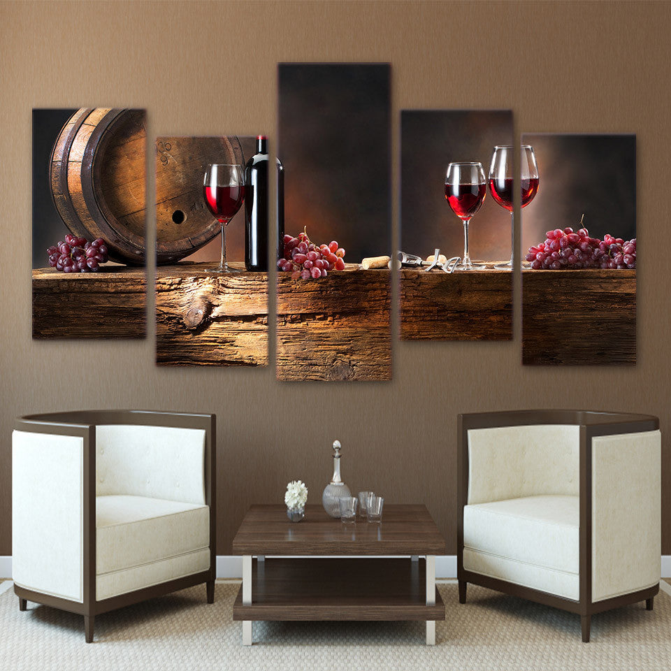 Limited Edition Wine Canvas