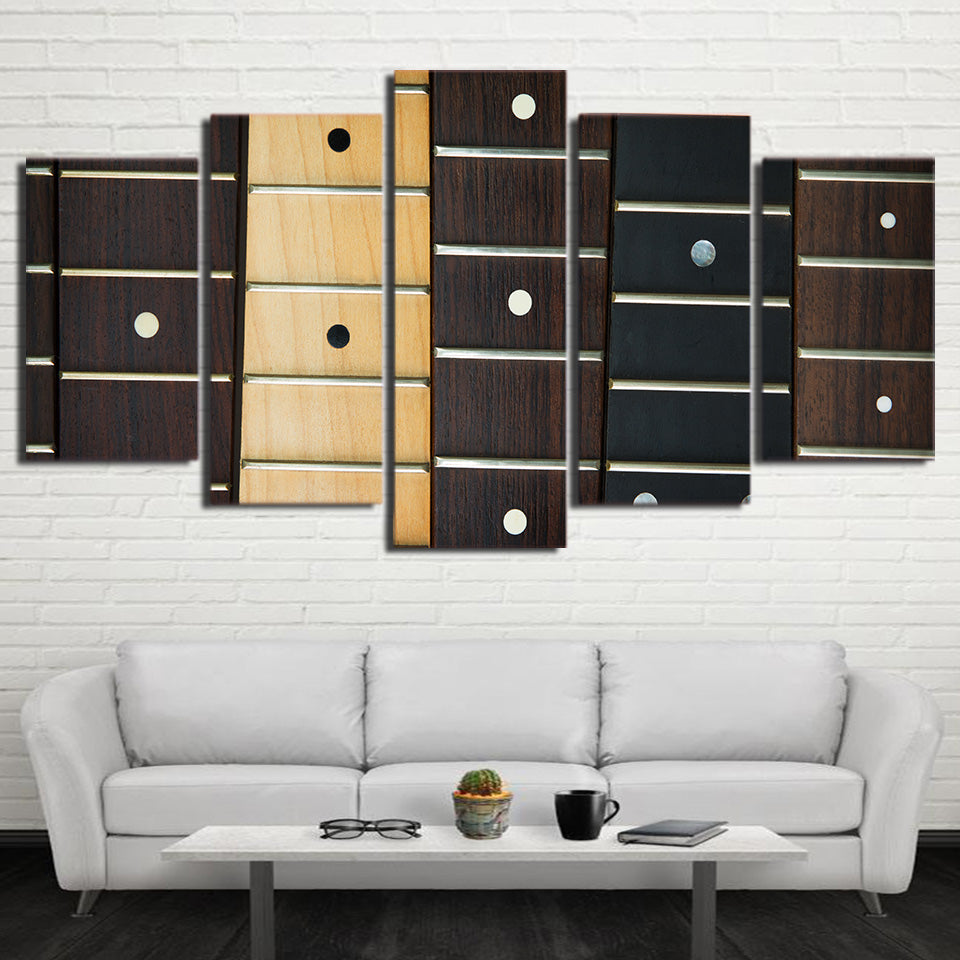 Limited Edition 5 Piece Modular Guitar Handle Canvas
