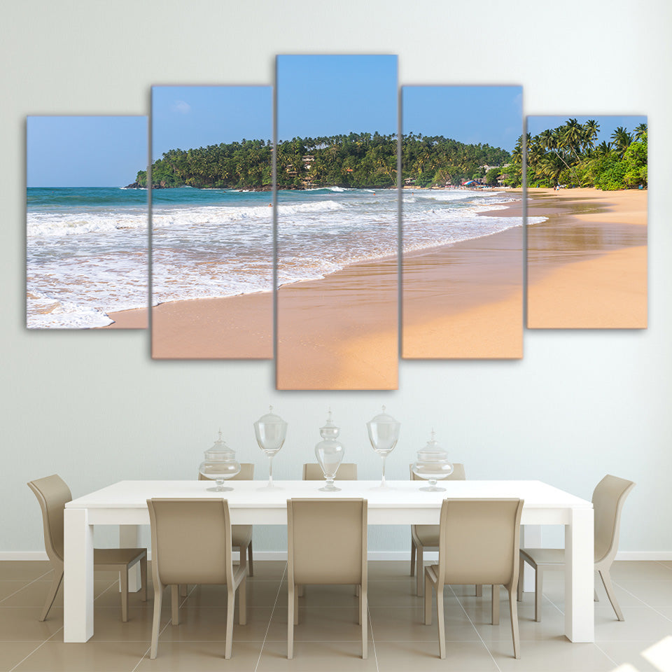 Limited Edition 5 Piece Seashore Canvas