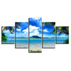 Limited Edition 5 Piece Island Getaway Canvas