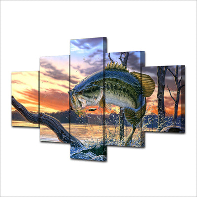Limited Edition Fishing Canvas