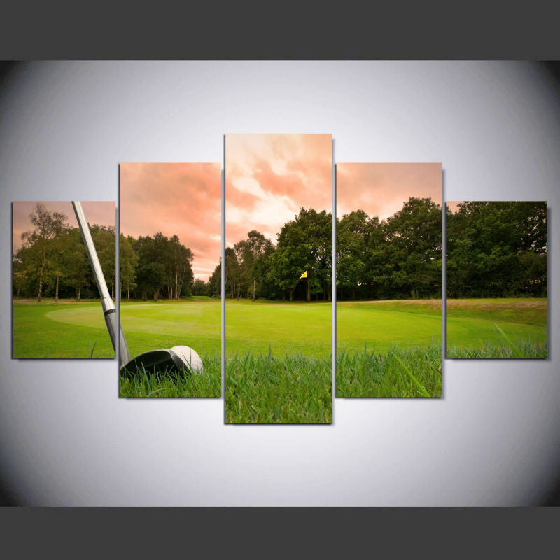 Limited Edition Golf Canvas