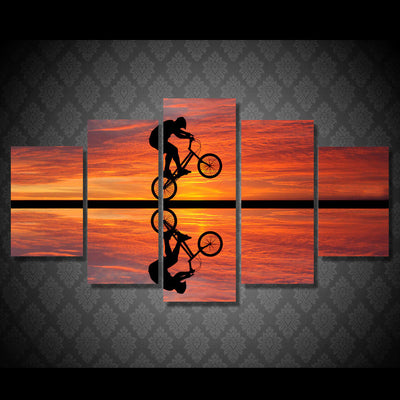 Limited Edition BMX Sunset Canvas