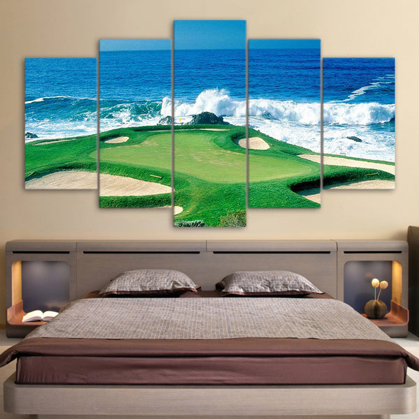 Limited Edition 5 Piece Golf Coast Canvas