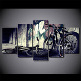Limited Edition 5 Piece Graffiti Bike Canvas
