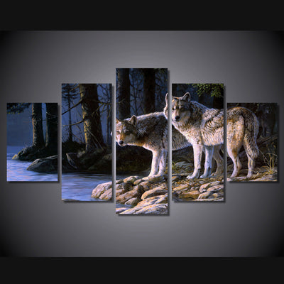 Limited Edition Wolf Canvas