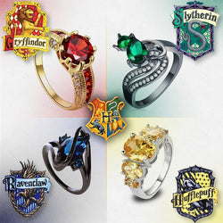 Harry Potter House Rings