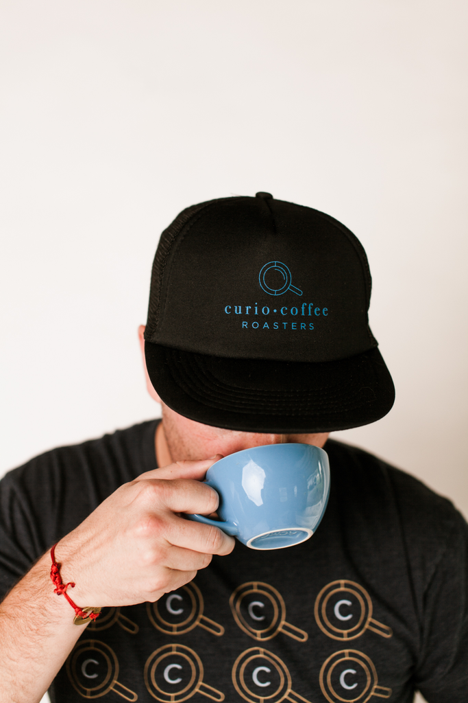 Curio Trucker Hat - Curio Coffee Roasters