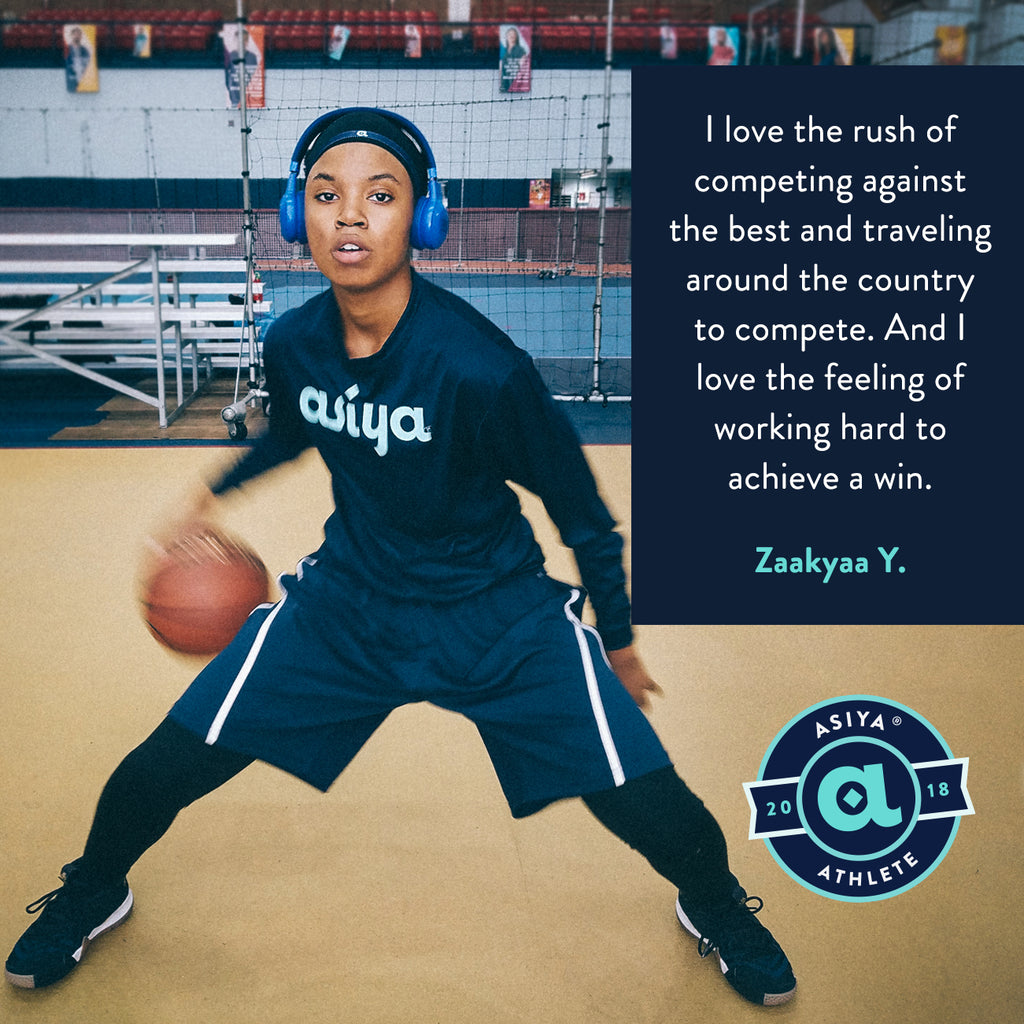 Meet ASIYA Athlete: Zaakyaa Y.