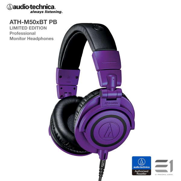 Audio-Technica ATH-M50xPB LIMITED EDITION Over-Ear Headphones