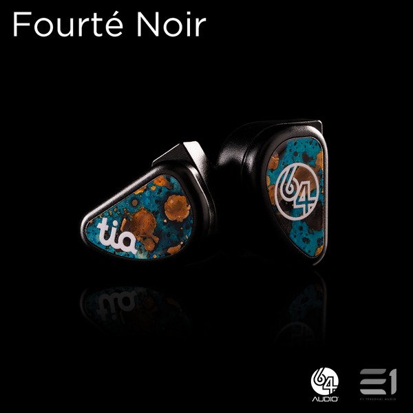 64 Audio Fourté Noir UNIVERSAL-FIT EARPHONES