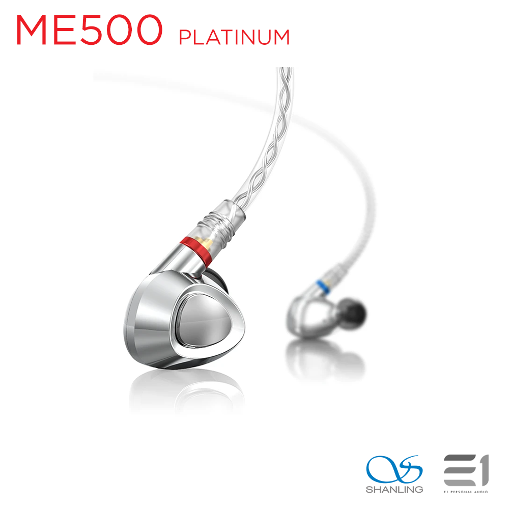 Shanling ME500 Platinum Edition Triple Driver Hybrid In-Earphones