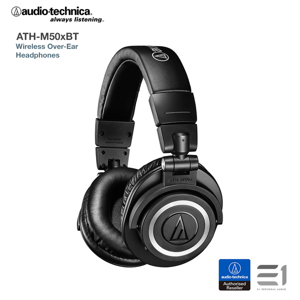 Audio-Technica ATH-M50xBT Wireless Over-Ear Headphones