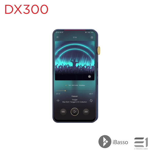 iBasso DX300 Portable Digital Audio Player