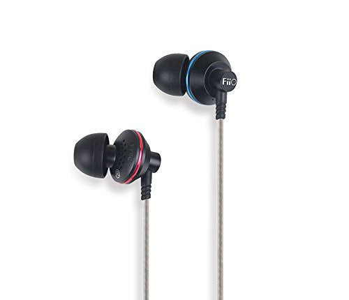 FiiO EX1 Nanotech Titanium Diaphragm In-Ear Monitors (Black)