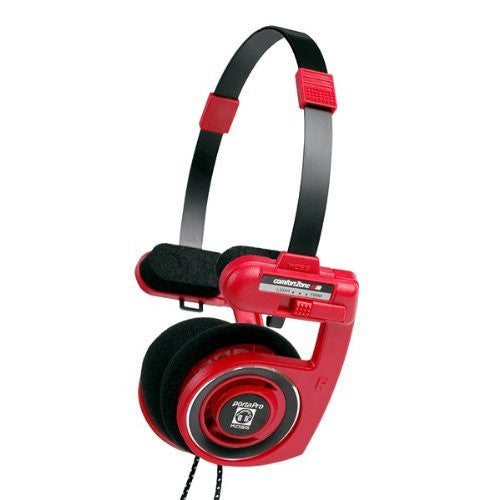 Koss Porta Pro On-Ear Stereo Headphones -Red