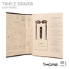 1More Triple Driver Lightning IN-EAR HEADPHONES